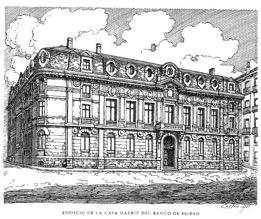 Primera sede del Banco de Bilbao.