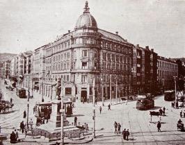Primera sede del Banco de Vizcaya.