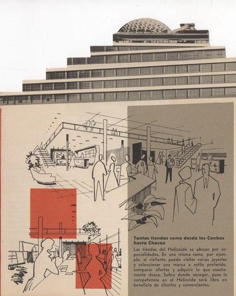 helicoide publicidad 1958-60