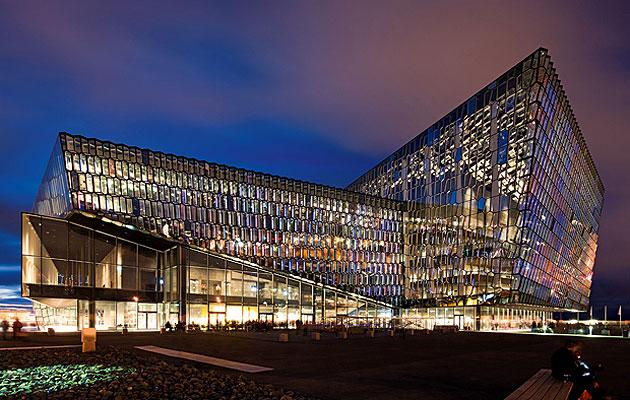 Reykiavik harpa concert hall henning larsen + olafur