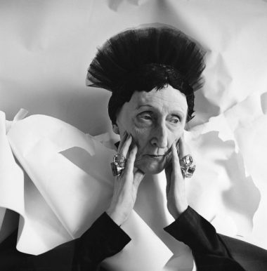Retrato de Edith Sitwell, 1962.
