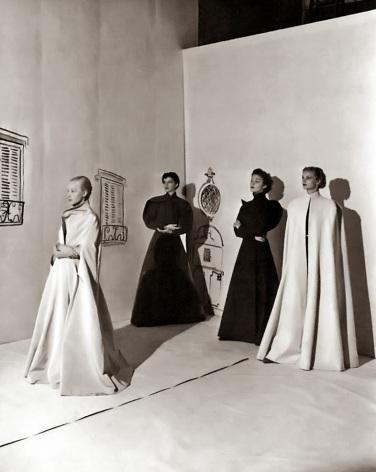 Modelos de Charles James para VOGUE, 1936.