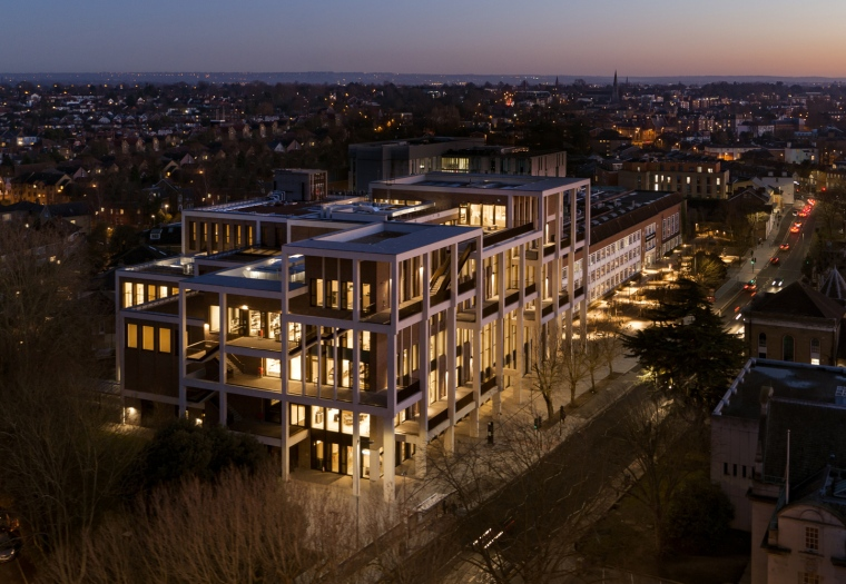 Kingston University Town House : Grafton Architects 2