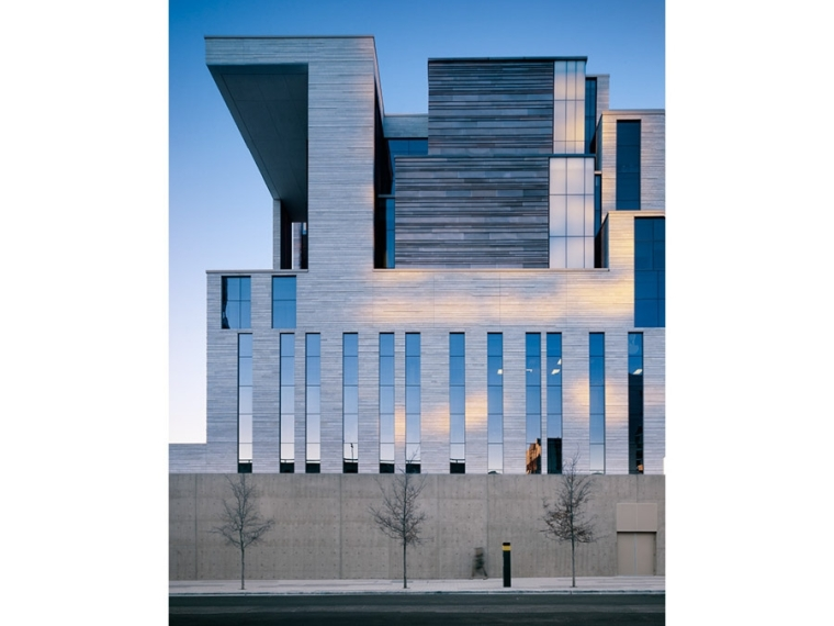 U.S. Courthouse, Mack Scogin Merrill Elam Architects, Austin, 2006-12.