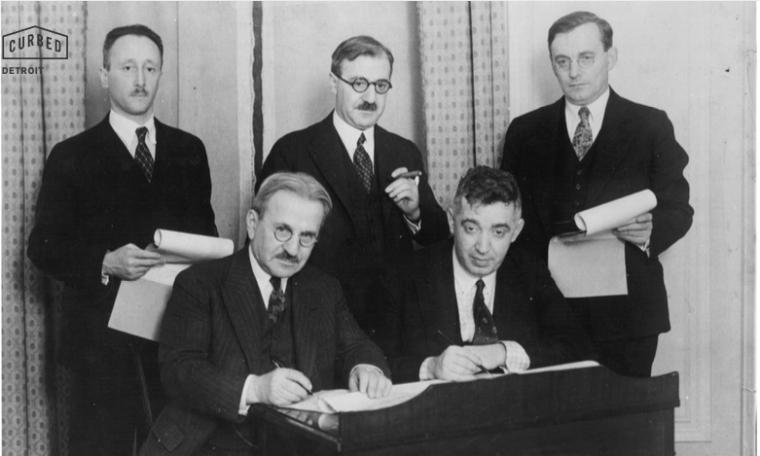 kahn firma contrato 1930.