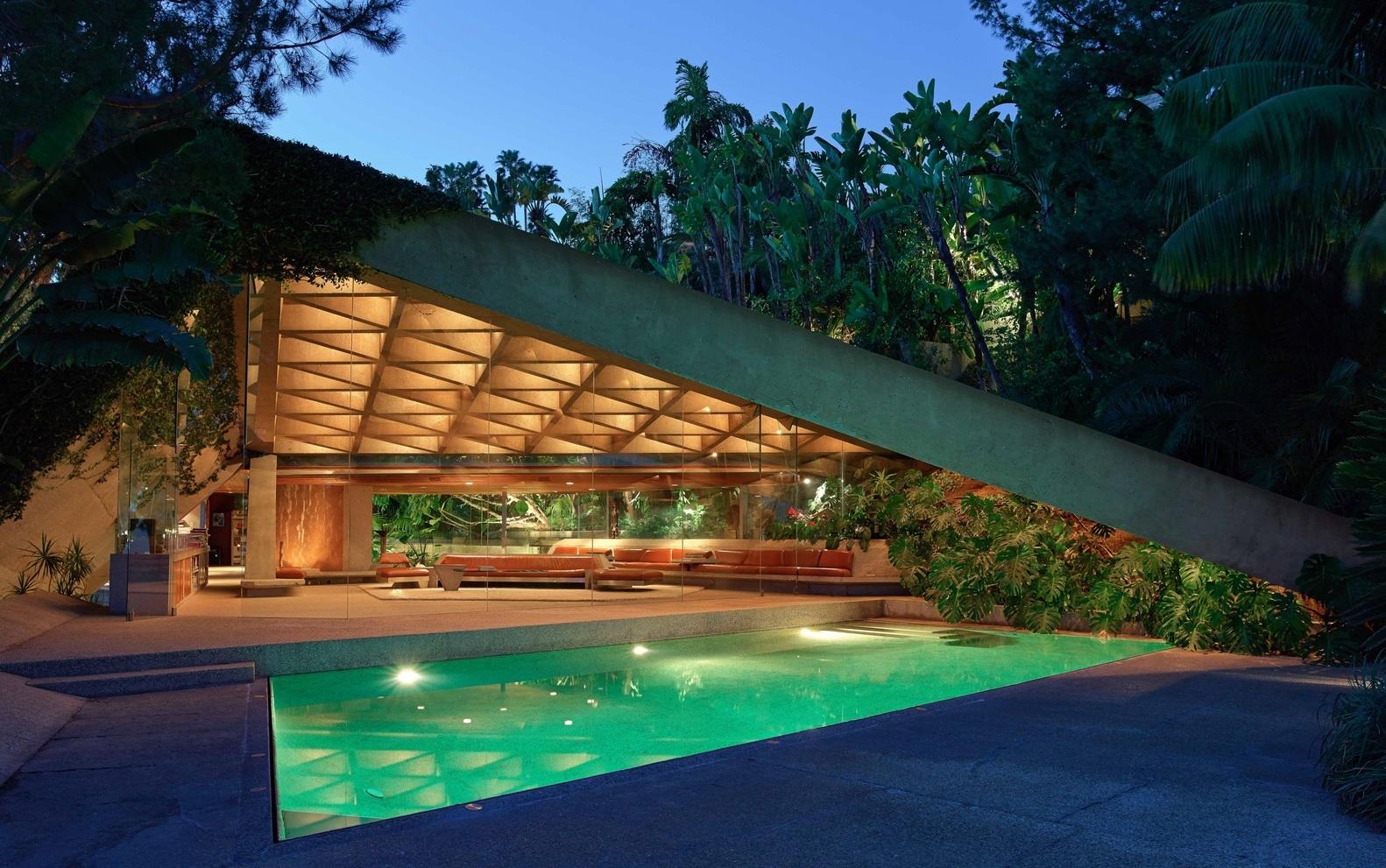 piscinas Jeff_Green-_Goldstein_House_by_John_Lautner